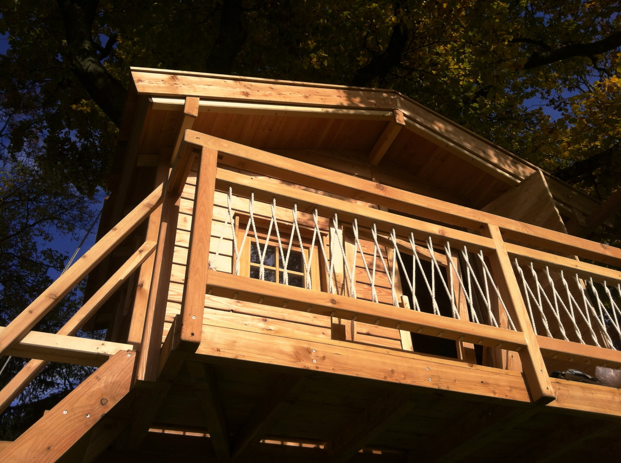 Our latest treehouse-project!