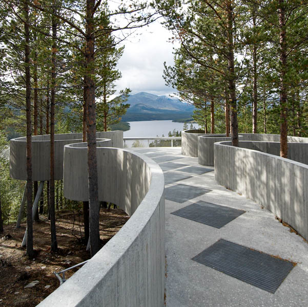The Sohlbergplassen Viewpoint in Norway