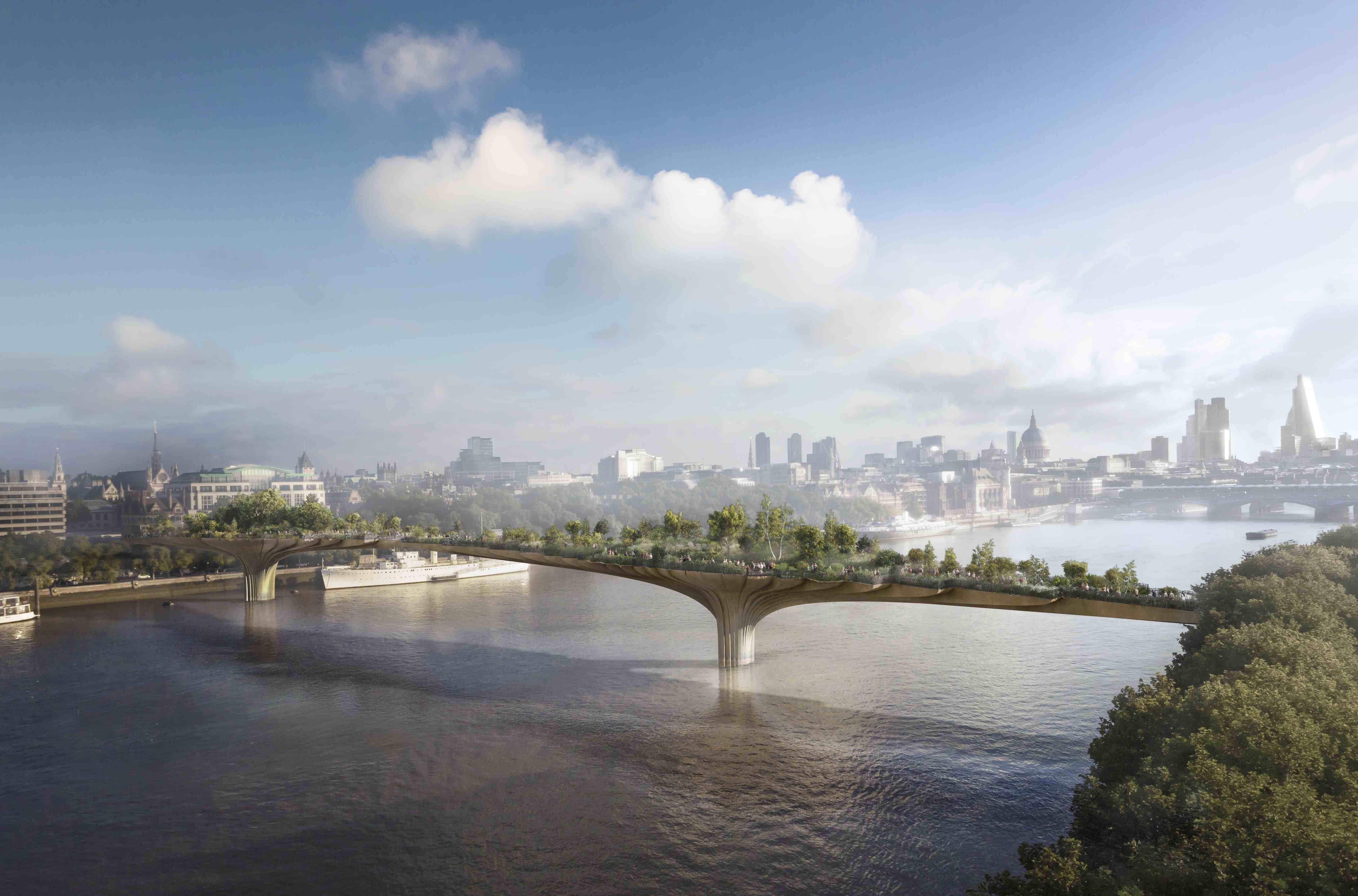 The Garden Bridge in London