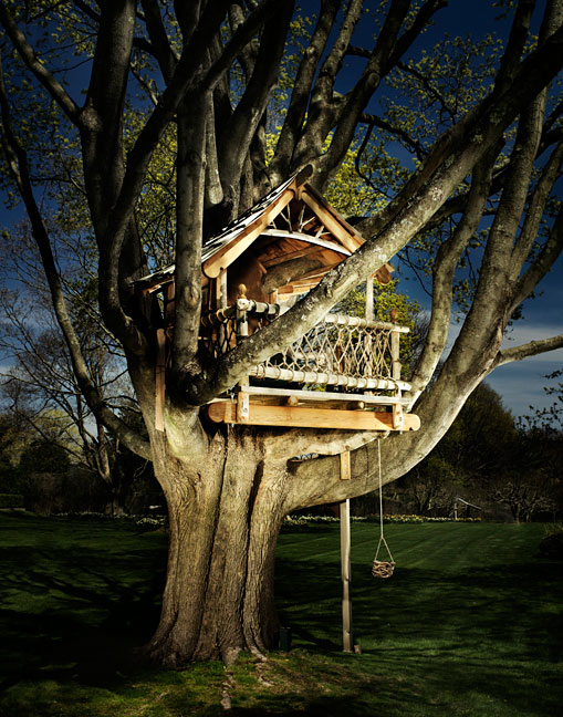 Surreal treehouse pictures from Jason Madara