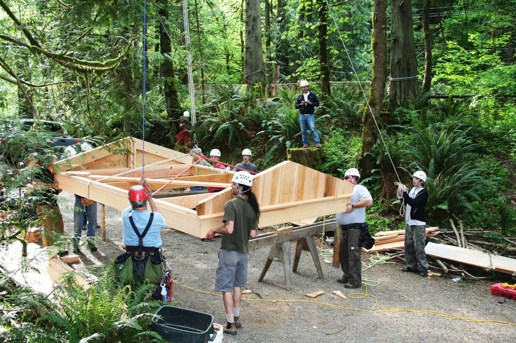 Let the treehouse workshop season begin!