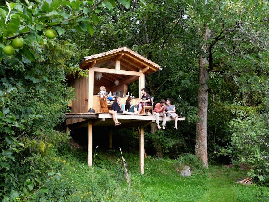 What a treehouse-lovestory!